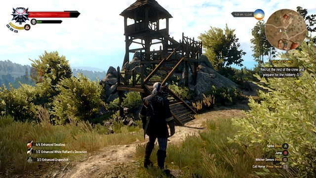 The tower in which you will find the body - Tinker, Hunter, Soldier, Spy - Treasure hunts - The Witcher 3: Wild Hunt Game Guide & Walkthrough