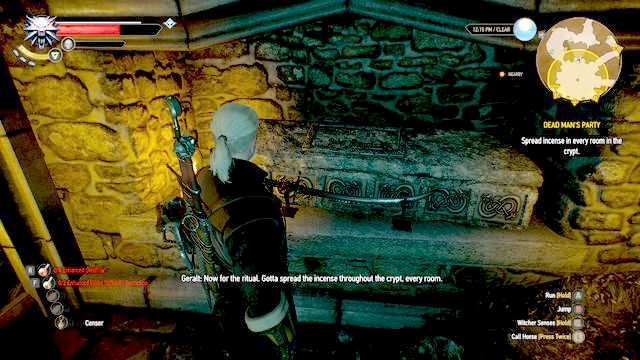 Witolds grave - Dead Mans Party - Main quests - The Witcher 3: Wild Hunt Game Guide & Walkthrough