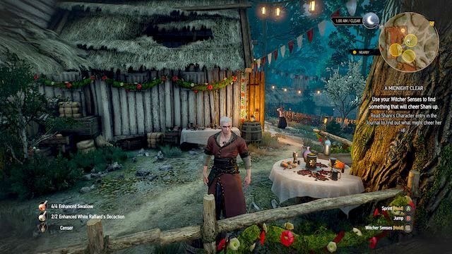 After the wedding you can start the affair with Shani - A Midnight Clear - Main quests - The Witcher 3: Wild Hunt Game Guide & Walkthrough