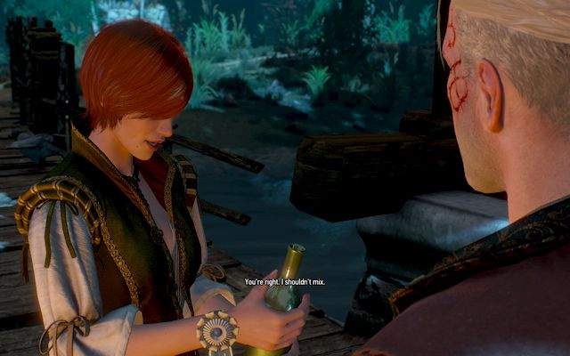Dont let the girl overdo the alcohol, it could end badly - Romance with Shani - New Content in The Witcher 3: Hearts of Stone Expansion - The Witcher 3: Wild Hunt Game Guide & Walkthrough