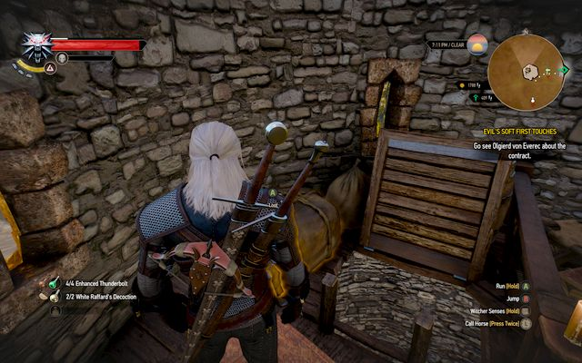 Package located near the ladder in the lighthouse. This is where you will find the armor - New Moon gear set - Gear Sets - The Witcher 3: Wild Hunt Game Guide & Walkthrough