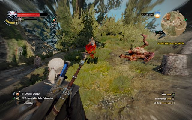 Body at the cemetery - A Surprise Inheritance - Treasure hunts - The Witcher 3: Wild Hunt Game Guide & Walkthrough