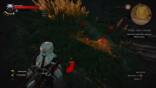 Follow the trail and investigate all clues. - Witcher contracts in Midcopse - Midcopse - The Witcher 3: Wild Hunt Game Guide & Walkthrough
