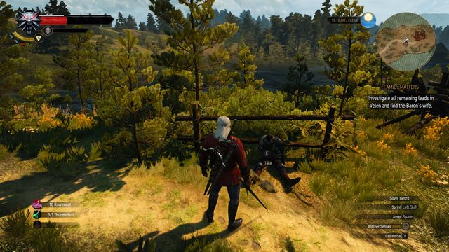 Take the key and the letter from the body. Watch out for the Grave Hag. - Treasure hunt in Fyke Isle - Fyke Isle - The Witcher 3: Wild Hunt Game Guide & Walkthrough