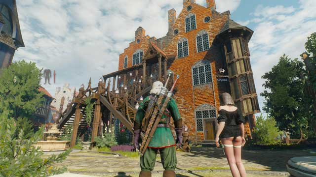 To use services offered by women in Passiflora, you must first talk to the owner of the place, madame Serenity - Courtesans - Romances and love scenes - The Witcher 3: Wild Hunt Game Guide & Walkthrough