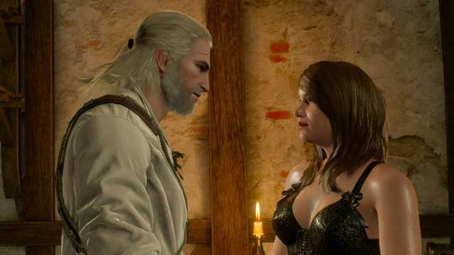 You can meet Jutta An Dumun while exploring the Skellige Islands - Courtesans - Romances and love scenes - The Witcher 3: Wild Hunt Game Guide & Walkthrough