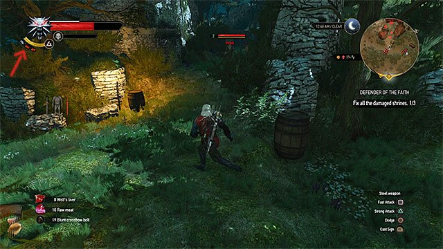 The current adrenaline level is shown in the left upper corner of the screen - Adrenaline - how to gain it and what is it used for - Combat - The Witcher 3: Wild Hunt Game Guide & Walkthrough