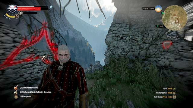 witcher 3 silver sword