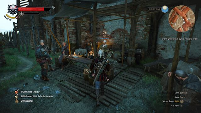 how to fix weapons witcher 3