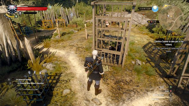 Quinto closed in a cage - Open Sesame! - The Safecracker - Main quests - The Witcher 3: Wild Hunt Game Guide & Walkthrough