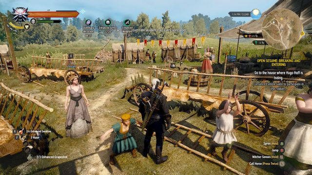 Open Sesame! - Breaking and Entering - The Witcher 3: Wild Hunt Game