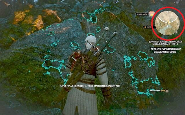 Cave with a blocked entrance illusion - Superior Bear School Gear - Bear School Gear - The Witcher 3: Wild Hunt Game Guide & Walkthrough