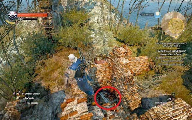 Schematic can be found in the chest inside the north-western part of the ruins - Enhanced Griffin School Gear - Griffin School Gear - The Witcher 3: Wild Hunt Game Guide & Walkthrough