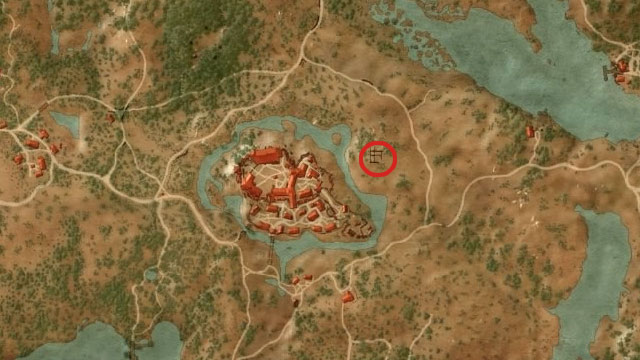 Diagram for the trousers lies in Burned Ruins near the west side of the Crows Perch - Enhanced Griffin School Gear - Griffin School Gear - The Witcher 3: Wild Hunt Game Guide & Walkthrough