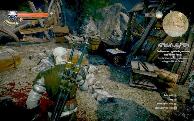 Chest in the trolls lair. - Enhanced Griffin School Gear - Griffin School Gear - The Witcher 3: Wild Hunt Game Guide & Walkthrough