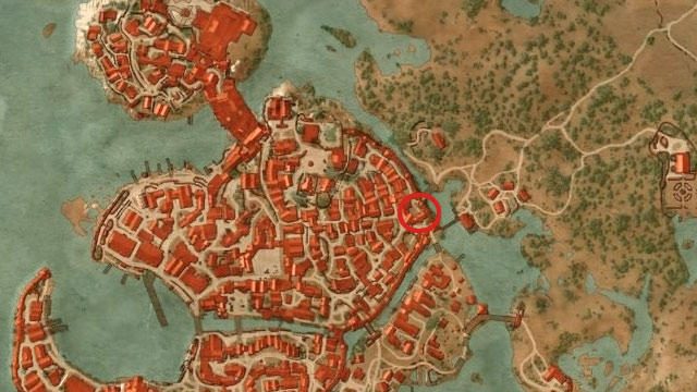 Go to the eastern part of Novigrad and approach the Oxenfurt Gate - Enhanced Cat School Gear - Cat School Gear - The Witcher 3: Wild Hunt Game Guide & Walkthrough
