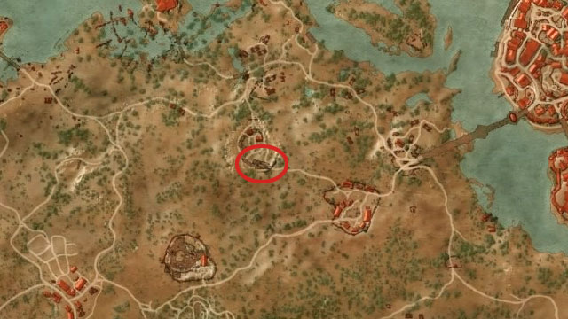 First, get yourself to Codgers Quarry located to the north-east from the Hanged Mans Tree - Enhanced Cat School Gear - Cat School Gear - The Witcher 3: Wild Hunt Game Guide & Walkthrough