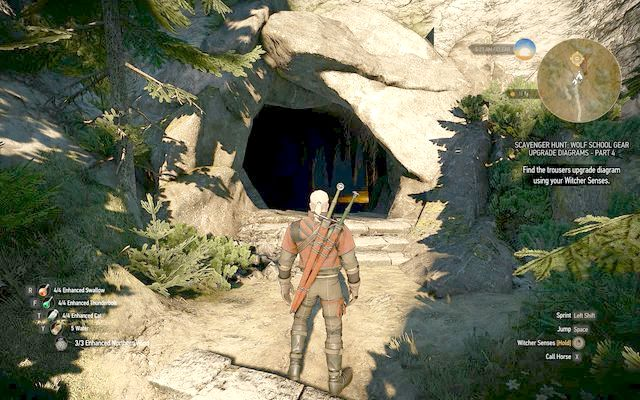 Laboratory entrance - Superior Wolf School Gear (DLC) - Wolf School Gear (DLC) - The Witcher 3: Wild Hunt Game Guide & Walkthrough