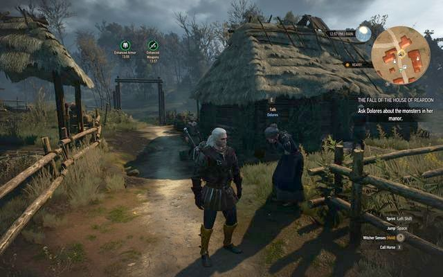 Dolores - Lindenvale village - Side quests in Crookback Bog - Crookback Bog - The Witcher 3: Wild Hunt Game Guide & Walkthrough