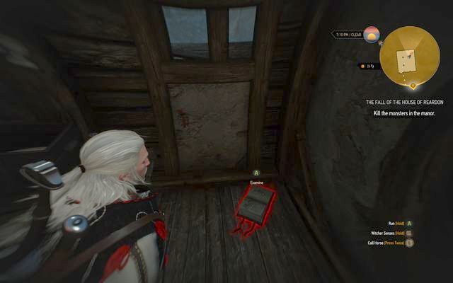 Dolores journal in one of the buildings - Side quests in Crookback Bog - Crookback Bog - The Witcher 3: Wild Hunt Game Guide & Walkthrough