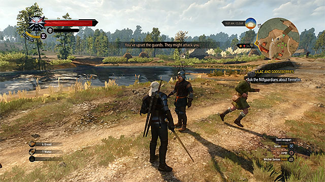 The game always warns you that your bad actions will be remembered - Theft and bad reputation - Exploring the game world - The Witcher 3: Wild Hunt Game Guide & Walkthrough