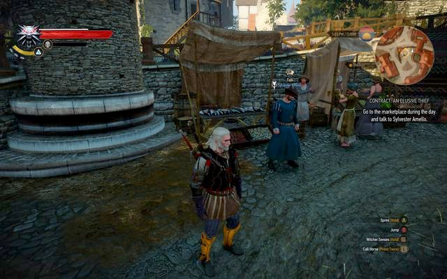 Sylvester Amello - Witcher contracts in Free City of Novigrad - Free City of Novigrad - The Witcher 3: Wild Hunt Game Guide & Walkthrough