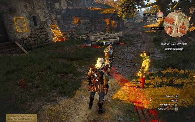 Find the doppler impersonating the temple guard - Witcher contracts in Free City of Novigrad - Free City of Novigrad - The Witcher 3: Wild Hunt Game Guide & Walkthrough