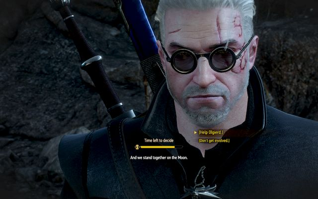 If you can, help Olgierd, this will allow you to unlock the good ending and obtain valuable swords - Whatsoever a Man Soweth... - Main quests - The Witcher 3: Wild Hunt Game Guide & Walkthrough