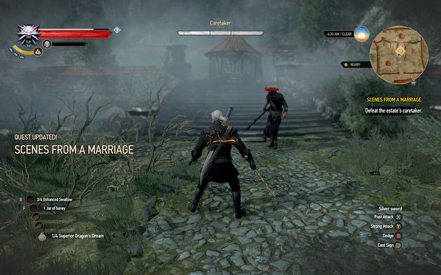 Scenes From A Marriage The Witcher 3 Wild Hunt Guide Walkthrough Gamepressure Com