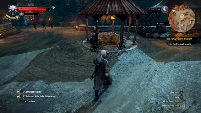 Entrance to the underground through the well on Oxenfurts marketplace - Evils Soft First Touches - Main quests - The Witcher 3: Wild Hunt Game Guide & Walkthrough
