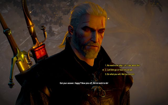 If you will try to save the life of the convict, you will have to face Olgierd - Evils Soft First Touches - Main quests - The Witcher 3: Wild Hunt Game Guide & Walkthrough