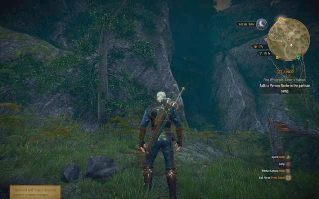 Entrance to Roche hideout - Get Junior - main quest - Free City of Novigrad - The Witcher 3: Wild Hunt Game Guide & Walkthrough