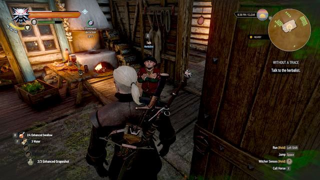 Halfling-herbalist - Without a Trace - Side quests - The Witcher 3: Wild Hunt Game Guide & Walkthrough
