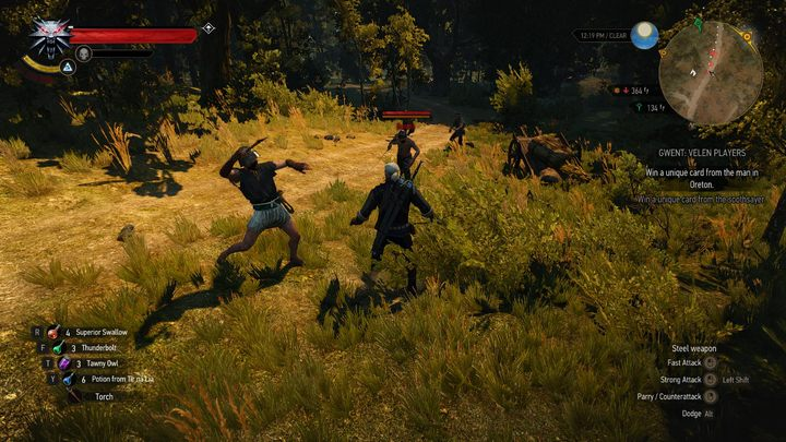 From now on, our foes fight much better - they block more often, counter Geralts attacks, and have even learned some of his tricks - Skilled Humans | The best mods - The best mods - The Witcher 3: Wild Hunt Game Guide & Walkthrough