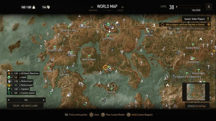 All quest objectives on map the best mods the witcher 3 wild the all quests objectives on map modification places all the objectives of all active quests on gumiabroncs Image collections