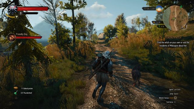 Follow the dog to the village - Side quests in Midcopse - Midcopse - The Witcher 3: Wild Hunt Game Guide & Walkthrough