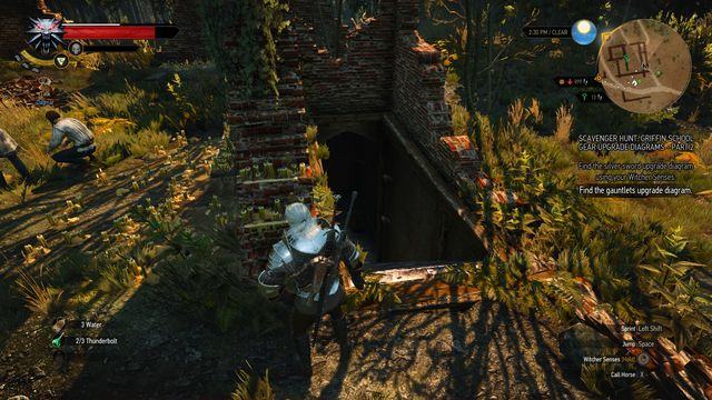 Use The Eye of Nehaleni to uncover the entrance to the crypt - Side quests in Midcopse - Midcopse - The Witcher 3: Wild Hunt Game Guide & Walkthrough