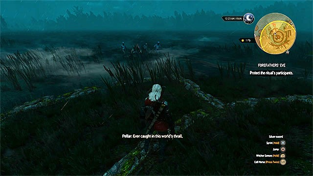 The monsters will come from the water - Side quests in Midcopse - Midcopse - The Witcher 3: Wild Hunt Game Guide & Walkthrough