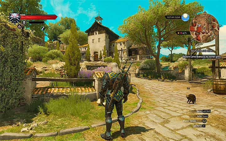 Geralts estate - Your Own Estate in Witcher 3: Blood and Wine - New Additions in Blood and Wine - The Witcher 3: Blood and Wine Game Guide