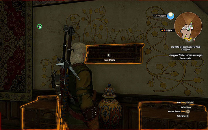Trophy shelf - Your Own Estate in Witcher 3: Blood and Wine - New Additions in Blood and Wine - The Witcher 3: Blood and Wine Game Guide