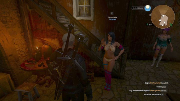 Geralt can also use the services of courtesans. - Romance with Syanna - New Additions in Blood and Wine - The Witcher 3: Blood and Wine Game Guide