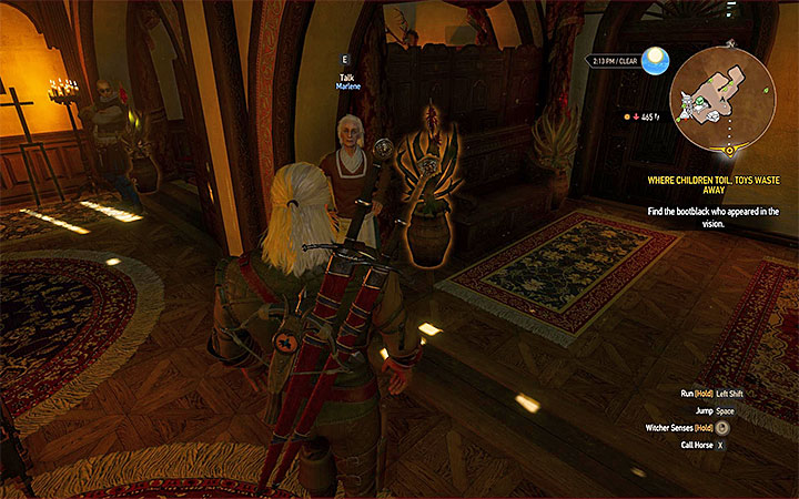 Marlene can be found in one of the main buildings of the vineyard - Smaller quests - Side quests - The Witcher 3: Blood and Wine Game Guide