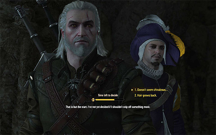 The moment when you must make a decision - Smaller quests - Side quests - The Witcher 3: Blood and Wine Game Guide