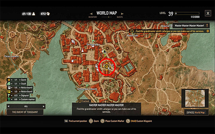 1 - New Grandmaster Witcher Gear - basic information - Grandmaster Witcher Gear - quests, diagrams and item statistics - The Witcher 3: Blood and Wine Game Guide
