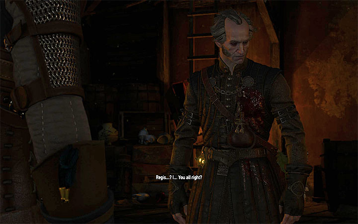 The meeting with Regis will take place no matter how the duel with Detlaff ended - Blood Run - Main quests - The Witcher 3: Blood and Wine Game Guide