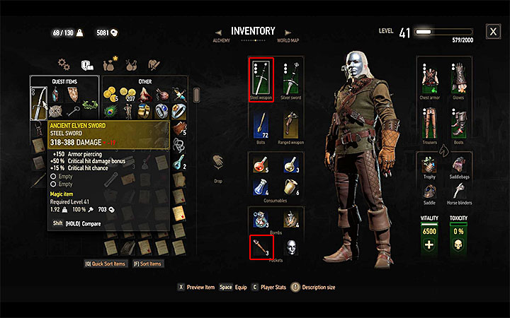 Durand will give you a Ceremonial Mask - Extreme Cosplay - Side quests - The Witcher 3: Blood and Wine Game Guide