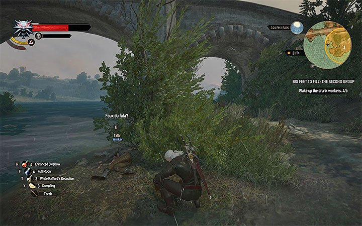 Reach the 2 marker from the map - Big Feet to Fill - quests concerning the Prophet Lebioda statue - Side quests - The Witcher 3: Blood and Wine Game Guide