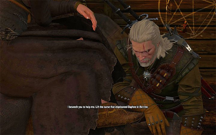 Kneel down - A Knights Tales - quest of a girl turned into a tree - Side quests - The Witcher 3: Blood and Wine Game Guide