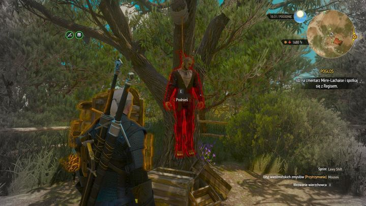 On the corpse, there is suicides journal. - Locations and descriptions of all treasure hunts - Witcher contracts and Treasure hunts quests - The Witcher 3: Blood and Wine Game Guide
