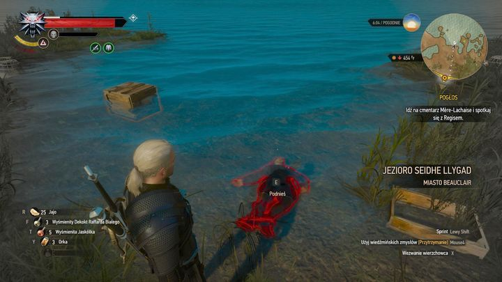 Loot the corpse to find a letter and a stash key. - Locations and descriptions of all treasure hunts - Witcher contracts and Treasure hunts quests - The Witcher 3: Blood and Wine Game Guide